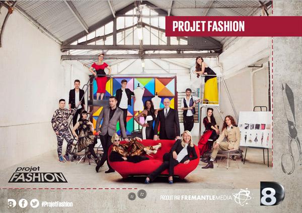 Avis et commentaires Projet Fashion D8 : votre forum sur la mode, les créations et les candidats / Capture écran D8