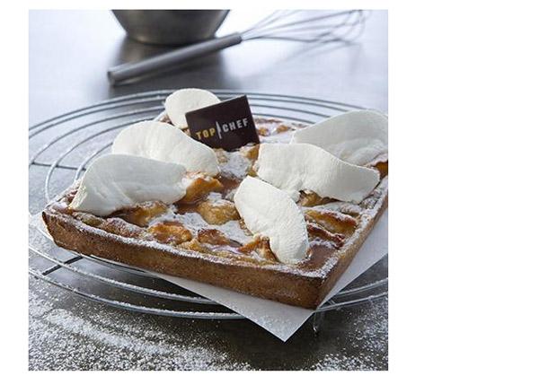 Avis et commentaires sur la tarte aux pommes de Xavier de Top Chef en vente chez Auchan