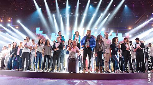 Avis et commentaires sur Les enfoirés 2015 à Montpellier : sur la route des enfoirés le concert