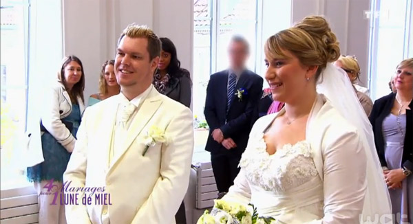 4 mariages pour 1 lune de miel 23/03/2015 avec Deborah et Frederic
