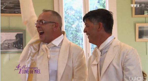 Avis Mariage homosexuel de Stéphane et Philippe dan 4 mariages sur TF1