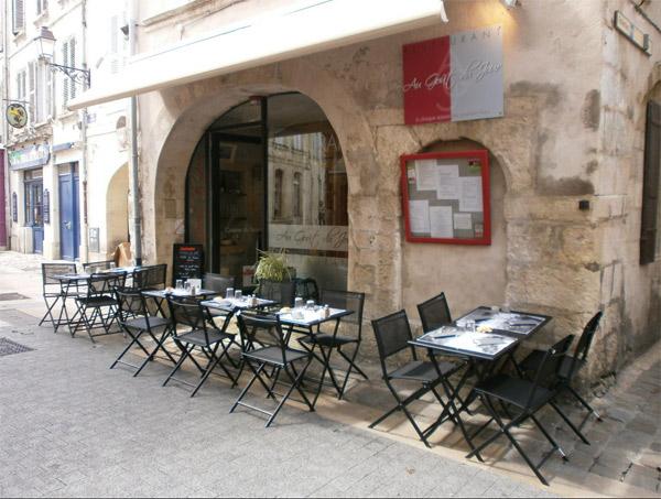 Nom du restaurant d'Anthony dans l'addition s'il vous plait TF1 à la ROchelle  / Photo Facebook Au gout du jour