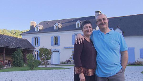 Avis et adresse de la maison d'hôtes d'Yvette et Gérard dans Bienvenue chez nous / Crédit photo TF1