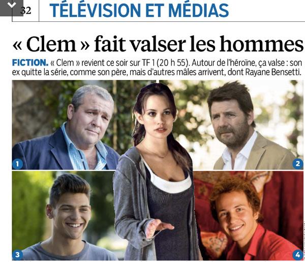 Avis clem saison 5 et audience TF1 lancement et épisodes du lundi