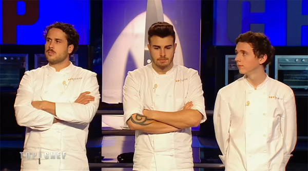 Martin quitte Top Chef 2015