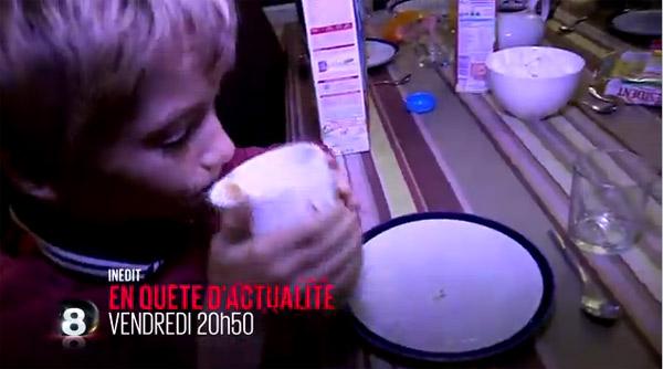 Avis sur le reportage du lait dans Enquête d'actualité le 20/03/2015