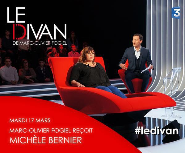 Avis et commentaires sur le Divan avec Michèle Bernier de France 3