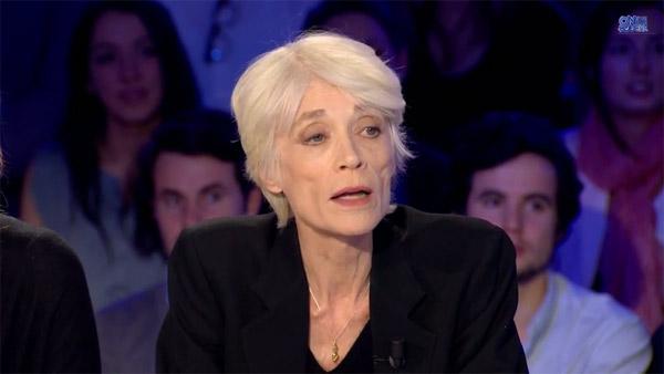 Françoise Hardy à coeur ouvert dans On N'est pas couché #ONPC
