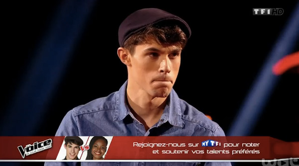 Lilian le beau gosse de The Voice 4