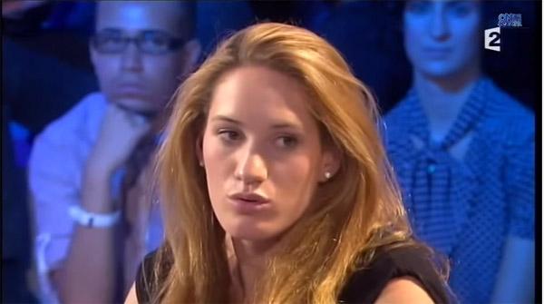 Camille Muffat dans Dropped de TF1 comme sportive haut niveau / Capture écran ONPC