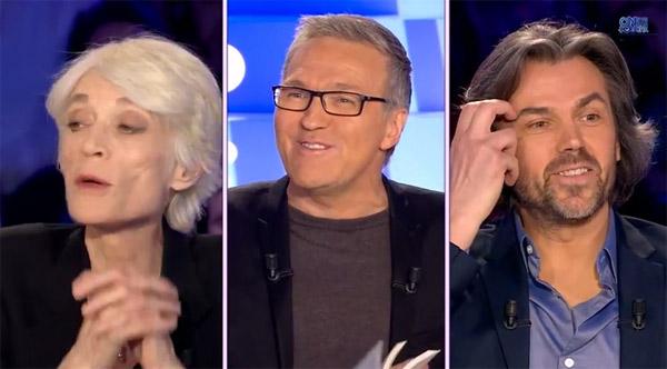 Avis et réactions sur Françoise Hardy chez Ruquier dans On n'est pas couché