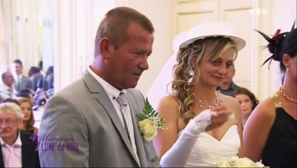 Avis et réaction sur le mariage de Sevérine dans 4 mariages pour 1 lune de miel le 19/03/2015 avec Jean Jacques
