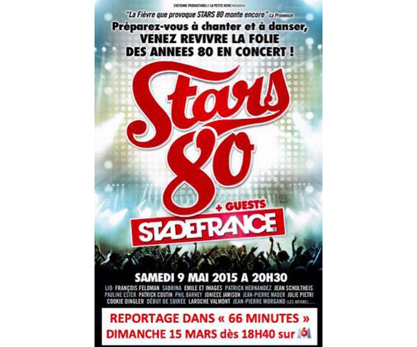 Avis reportage 66 minutes sur Stars 80 la tournée