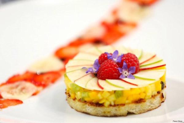 Miam un bon plat Top Chef 2015 sur M6 / Crédit : Marion LEFLOUR/M6