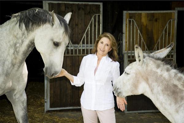 Arrêt de 30 millions d'amis le dimanche sur France 3 / voici Reha KUTLU-HUTIN, Flint le cheval et l'âne Bambi