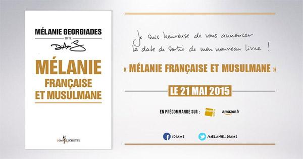 Avis sur le livre Mélanie française et musulmane de Diam's