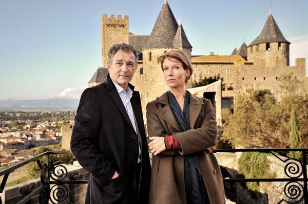 Meurtres à carcassonne le 69mai 2015 : les avis, le tournage / Credit : Rémy Grandroques / Kwaï Productions / FTV 2014