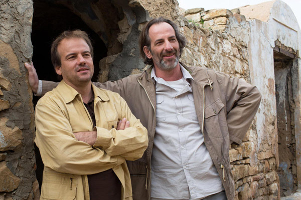 Boher et Esteban dans Plus belle la vie le prime du 19 mai sur France 2 / Credit : Romuald MEIGNEUX / SIPA / FTV