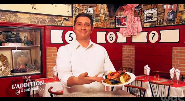 Le restaurant d'Alain sur Arles de l'addition s'il vous plait : bodega, espagne et tauromachie !