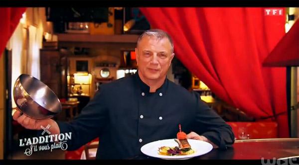 L'adresse du restaurant de Jean Marc dans l'addition SVP en Provence le 22/04/2015