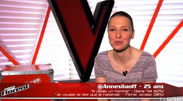 Avis et commentaires sur Anne Sila de The Voice 2015