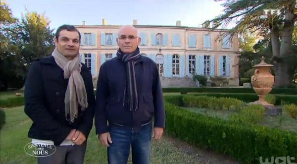 Adresse et avis sur le château de Michel et Cyrille dans Bienvenue chez nous TF1
