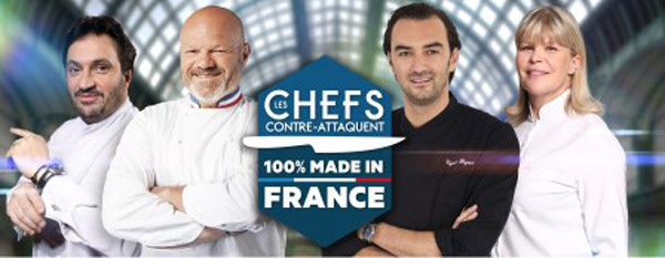 Nouvel épisode Les chefs contre-attaquent en 2015 avec le 100% made in France /  ABACAPRESS.COM/Julien KNAUB/PIERRE OLIVIER/Franck FERVILLE/M6