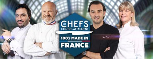 Nouvel épisode Les chefs contre-attaquent en 2015 avec le 100% made in France / ABACAPRESS.COM/Julien KNAUB/PIERRE OLIVIER/Franck FERVILLE/M6