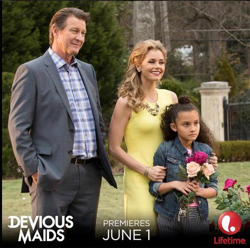 Brianna Brown alias Taylor dans Devious Maids saison 3