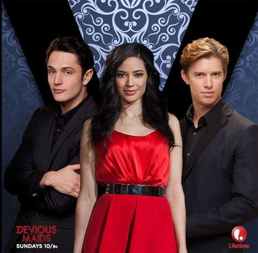 Valentina et Remi ... ainsi qu'Ethan avant Devious Maids saison 3