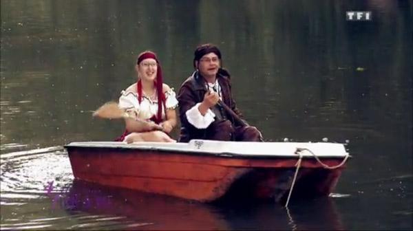 Laetitia et Patrick en mode amoureux sur le thème pirate des caraïbes