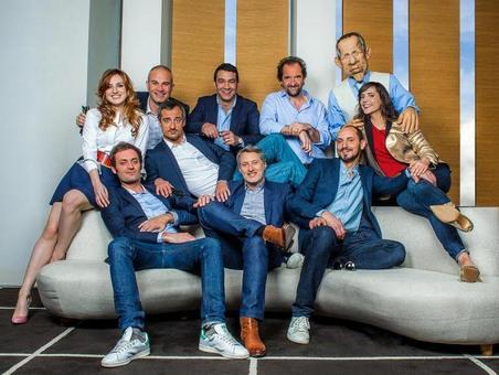 L'équipe pour le Grand journal de Cannes 2015  Doria Tiller le retour
