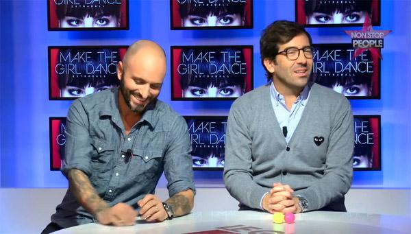 Pierre Mathieu le retour de Make The girl Dance en mai 2015 / Capture écran Non Stop people