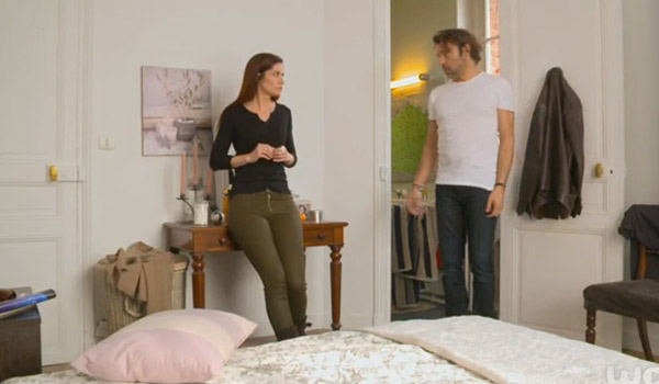 Marie et Nicolas en pleine dispute