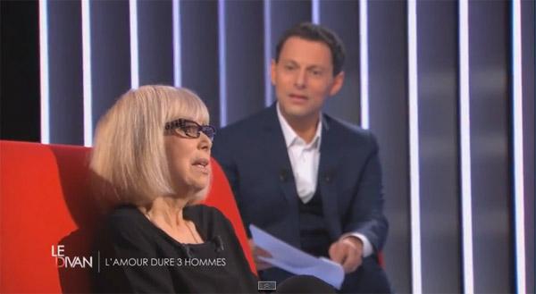 Avis et commentaires sur le Divan de Mireille Darc le 28 avril 2015