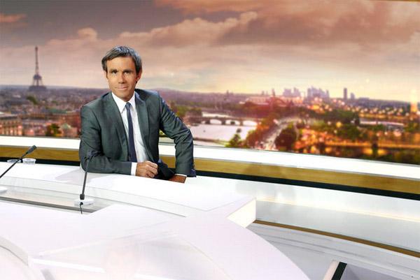 David Pujadas dans Vivement Dimanche  / Credit : RUSSEIL Christophe/FTV