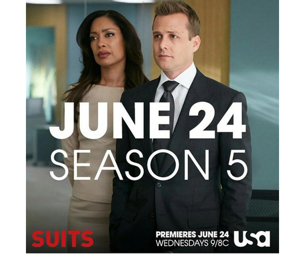 Jessica et Harvey dans Suits saison 5