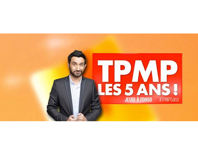 Avis TPMP fête ses 5 ans en direct #TPMP5ans / Photo D8/twitter