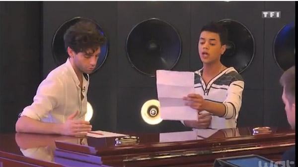 """Le coaching de Yann'Sine avec Mika sur une chanson  """"Impossible"""" de James Arthur."""