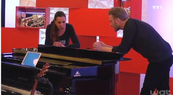 Le coaching de Guilhem avec Zazie sur la chanson Clocks de Colplay