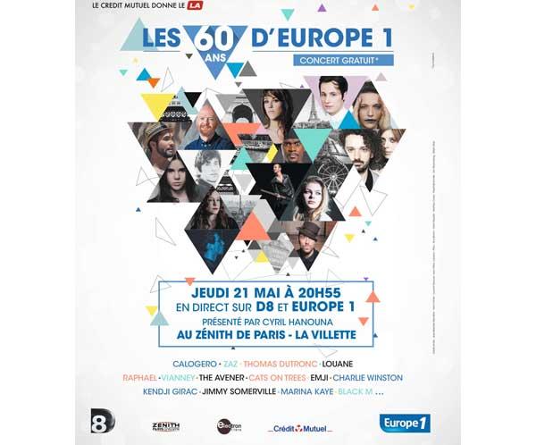 Commentaires et critiques sur Les 60 ans d'Europe 1