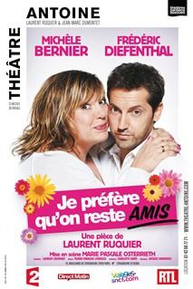 Affiche promo de Michèle Bernier et Diefenthal