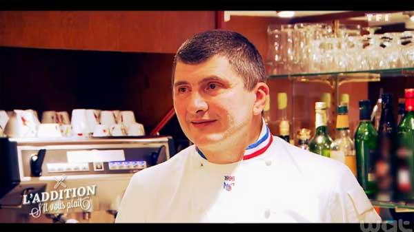 Avis sur le restaurant de William dans l'addition s'il vous plait : MOF sur Lyon