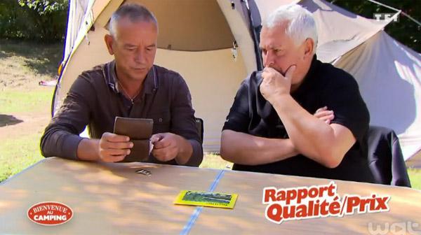 Vos avis et l'adresses du camping d'Yves & Yves dans Bienvenue au camping sur TF1.