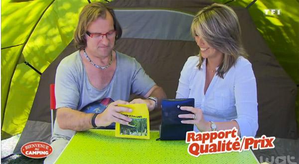 Avis et adresse sur le camping de Magalie et Jean-Louis de Bienvenue au camping sur TF1