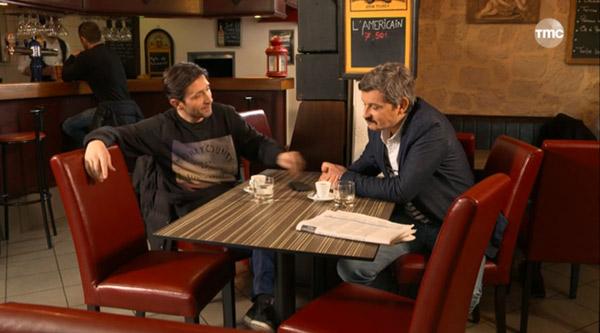 Christian et José réunis comme au bon vieux temps.