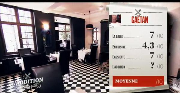 Le bilan du resto de Gaetan pour les restaurateurs dans l'addition SVP