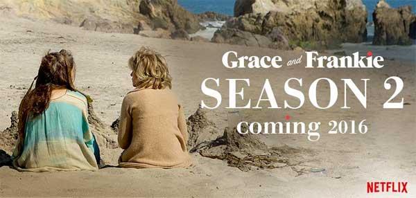 Date diffusion de Grace and Frankie saison 2 renouvelée sur Netflix