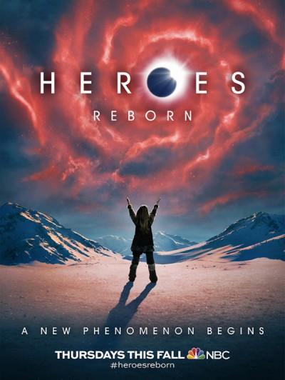 Le poster promo de Heroes Reborn