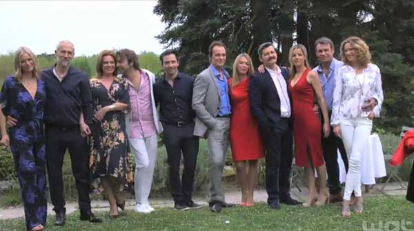 Nouvelle vidéo inédite des voeux des amis d'Hélène pour son mariage dans les mystères de l'amour #LMDLA